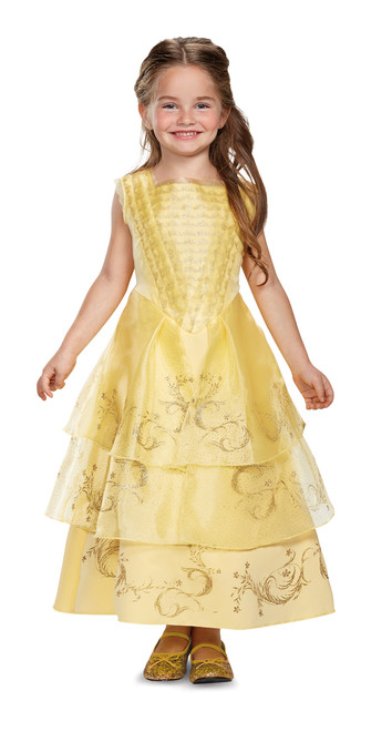 Toddler Belle Movie Deluxe Ball Gown Costume