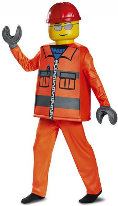 Children's Lego Deluxe Construction Worker Costume