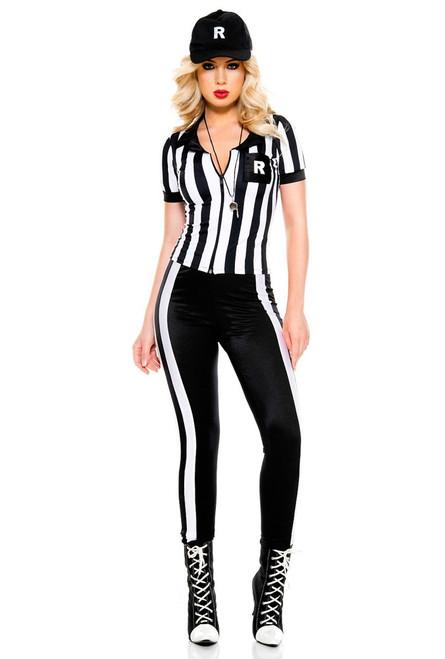 Ladies Half Time Referee Costume