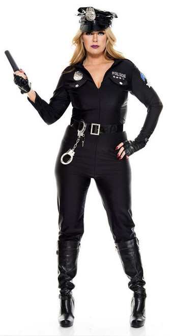 Perverse Lady-Lieutenant Costume - Plus Size