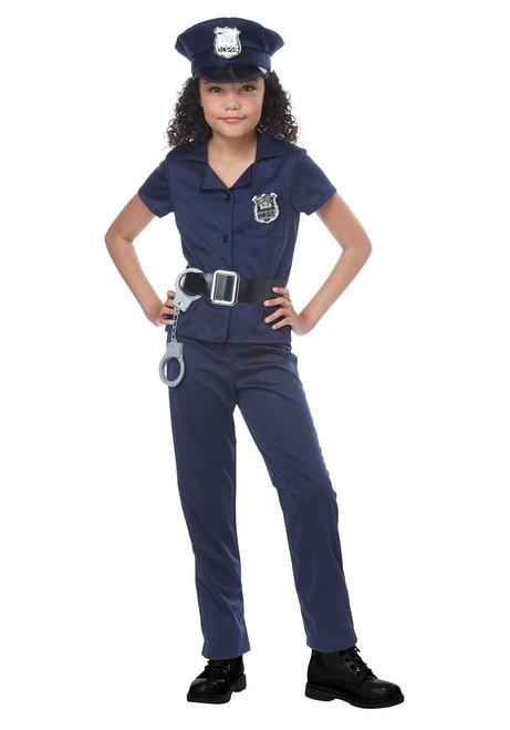 Childs Cute Cop Costume