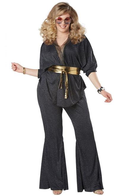 70s Disco Dazzler Costume - Plus Size