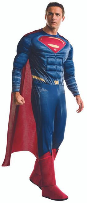 Mens Deluxe Justice League Superman Costume