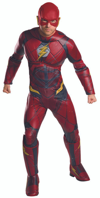Deluxe Mens Justice League Flash Costume