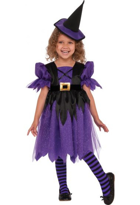 Toddler's Sweet Witch Costume