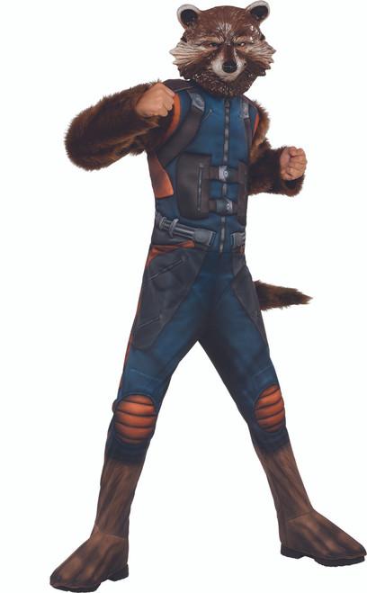 GOTG2 Rocket Raccoon Deluxe Kids Costume