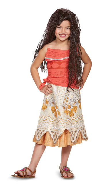 Toddler's Moana Costume