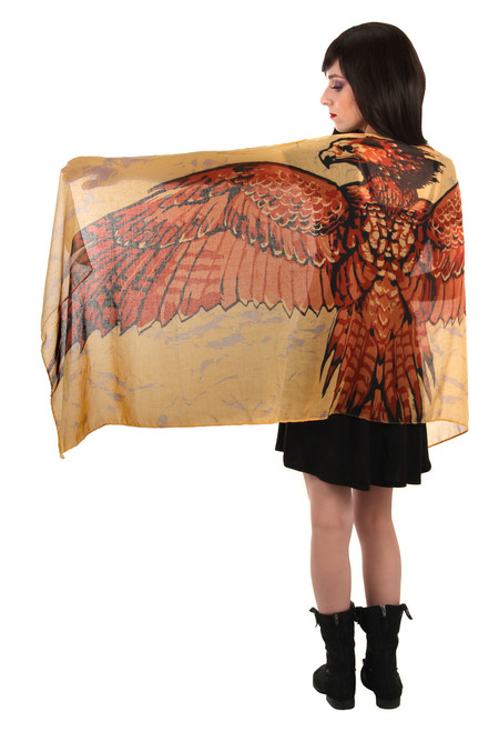 Harry Potter Fawke Wing Lightweight Scarf