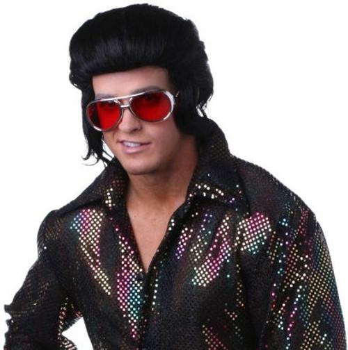 Pompadour Elvis-Inspired Wig 70s