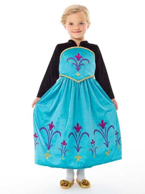 Ice Queen Blue Dress Costume