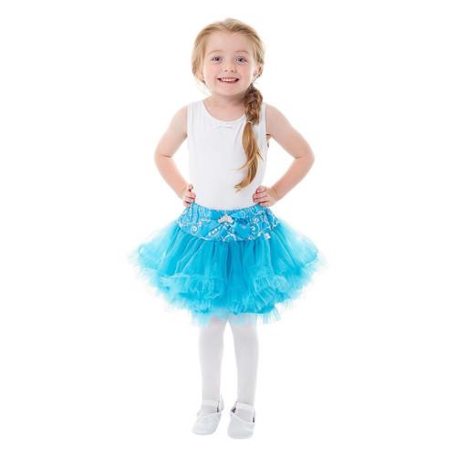 Ice Princess Blue Tiara Tutu
