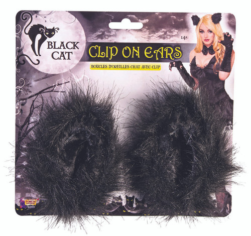 Black Cat Ears Clip-on