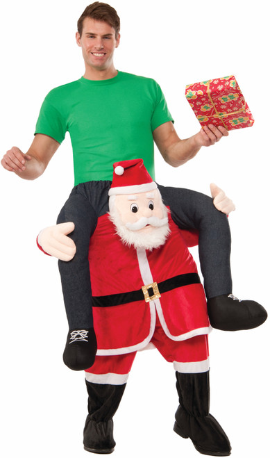 Ride-a-Santa Inflatable Costume