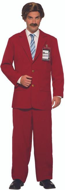 Burgandy Anchorman Leisure Suit