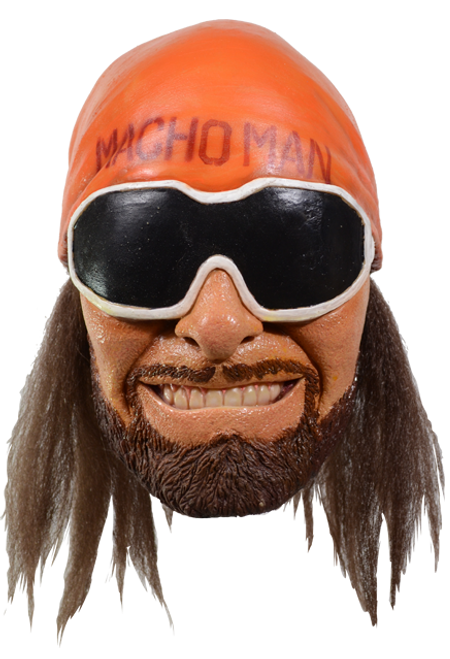 Licensed Macho Man Randy Savage WWE Character Mask