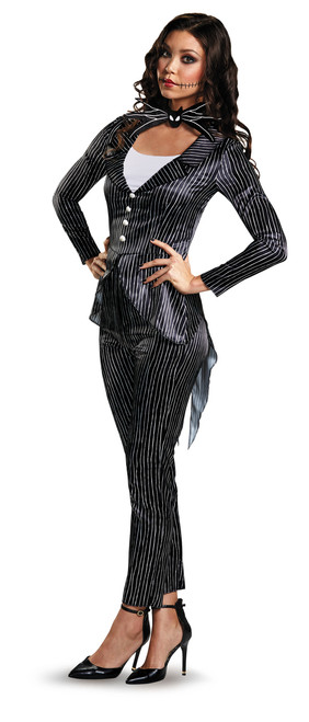 Ladies Nightmare Before Christmas Jack Skellington Costume