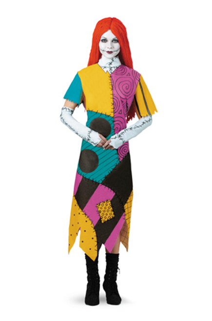 Ladies Nightmare Before Christmas Sally Costume