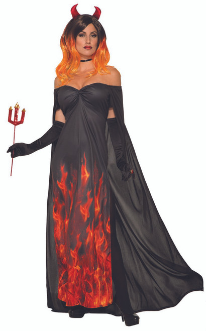 Women's Elegant Devil Sexy Costume