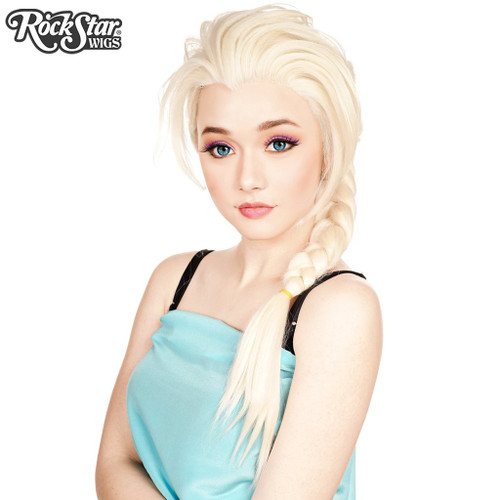 Elsa Inspired Character Cosplay Lacefront Rockstar Wig