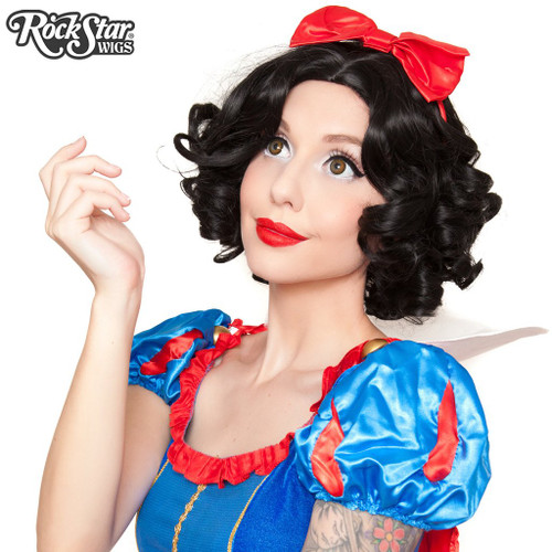 Snow White Inspired Character Cosplay Rockstar Wig