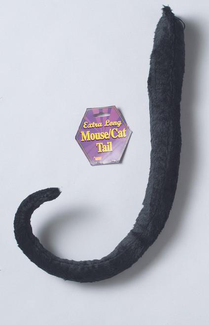 Long Black Cat Tail