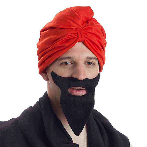 Bollywood-Style Red Turban
