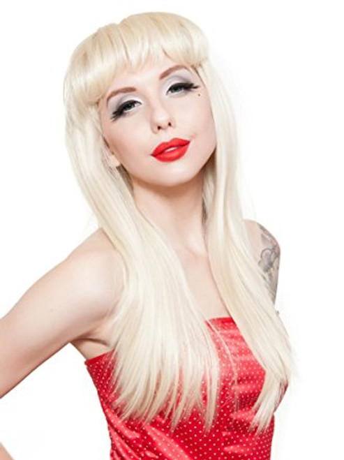 Rockstar Pin-Up Classic Blonde Wig