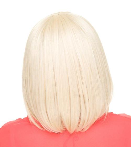 Rockstar Cosplay Straight Bob Blonde Wig