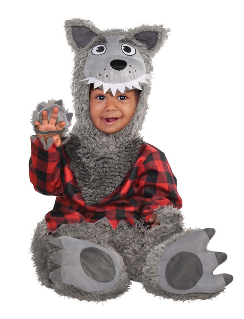 Infant/Toddler's Baby Wolf Costume