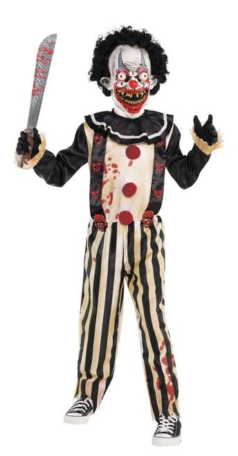 Kids Slasher Clown Costume