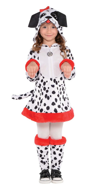 Kids Dotted Doggy Costume