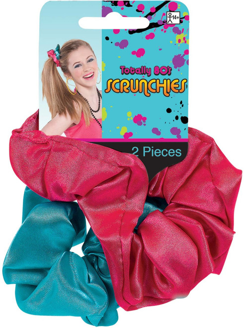 Totally 80's Valley Girl Scrunchies