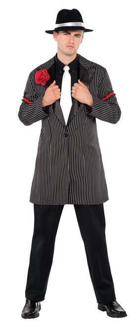 20s Gangster Pinstripe Zoot Suit