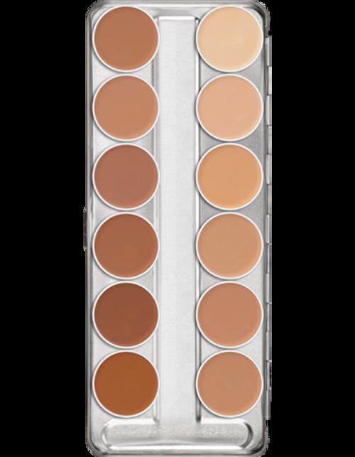 Kryolan Professional Dermacolor C Fair 12 Concealer Palette