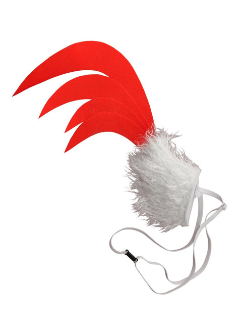 Perky Chicken Tail Costume Accessory