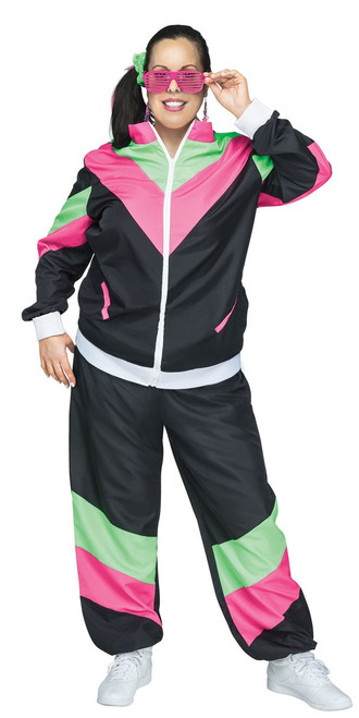 80's Funky Chic Tracksuit - Plus Size