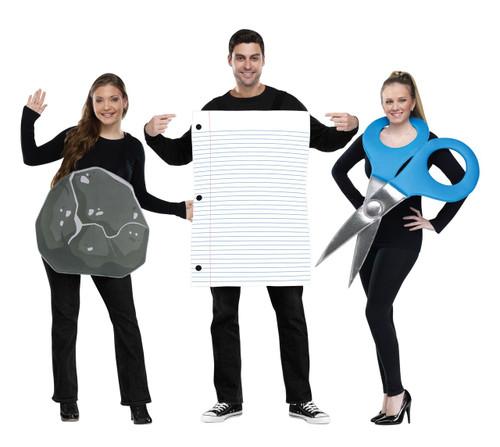 Rock, Paper, Scissors Group Fun Costume