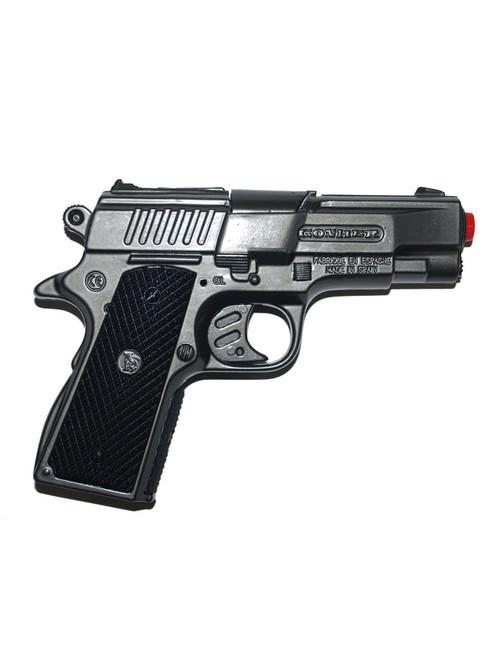Police Pistol Metal Cap Gun Prop