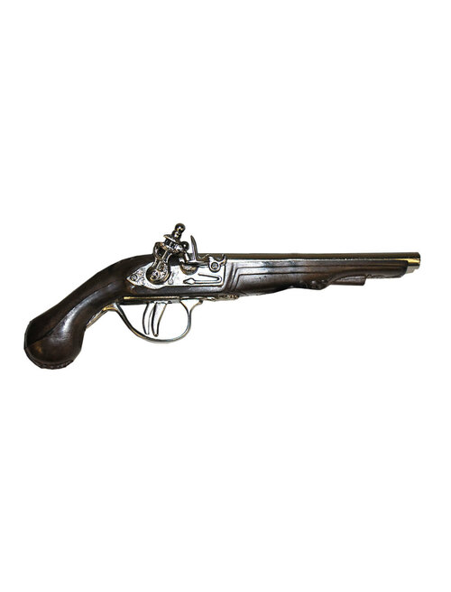 Die-Cast Double Trigger Pirate Pistol Cap Gun Prop