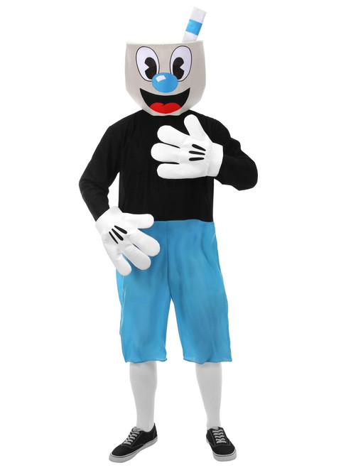 Cuphead: Don't Deal With The Devil - Adult Mugman Costume
