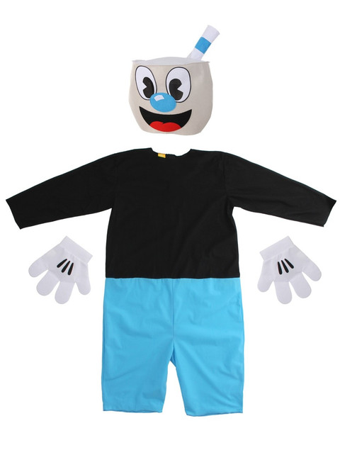 Cuphead: Don't Deal With The Devil - Adult Mugman Costume (ALT)