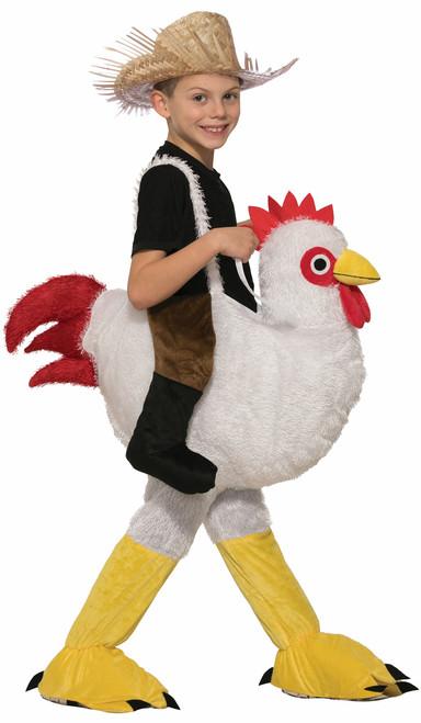 Ride A Chicken Child