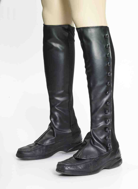 Steampunk Boot Spats BK