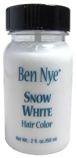 Ben Nye Snow White Hair Color Makeup 1oz Container