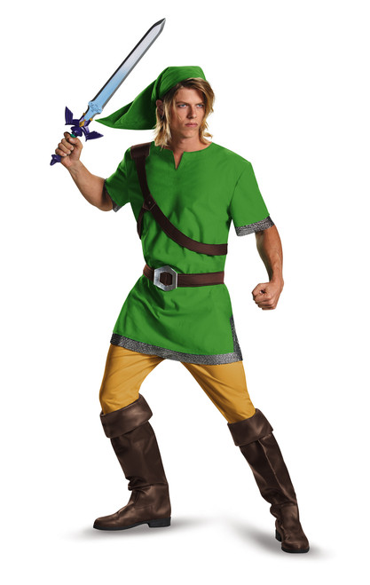 Mens The Legend Of Zelda Link Standard Costume