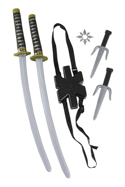 Dual Ninja Sword Set