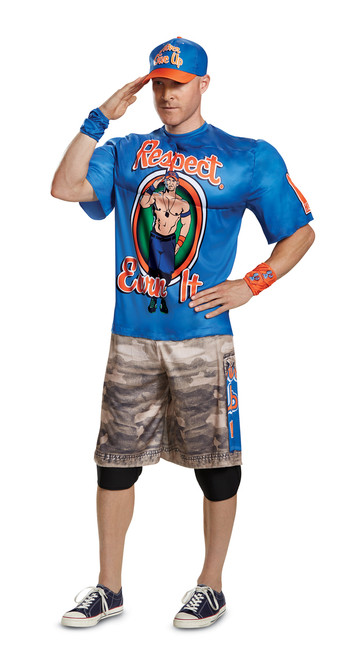 Officially Licensed WWE John Cena Muscle Costume (ALT)