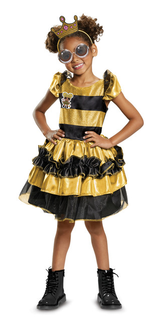 Children's Deluxe Queen Bee LOL Surprise Costume