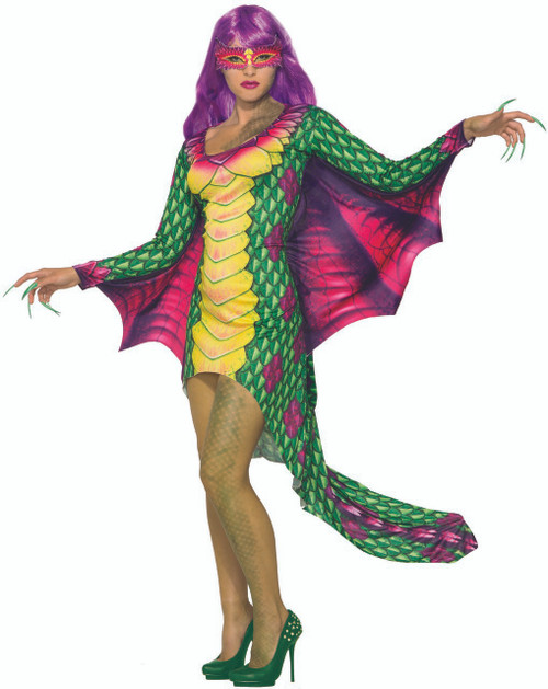 Womens Dazzling Dragon Costume