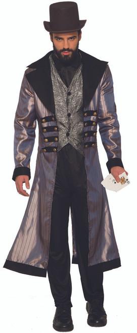 Mens Western Badland Gambler Mavrick Costume